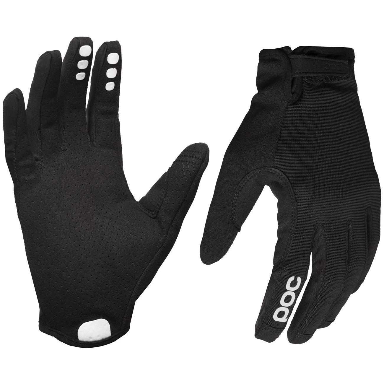 POC Resistance Enduro Adjustable Glove Handschuh - 8204 Uranium black/Uranium Black
