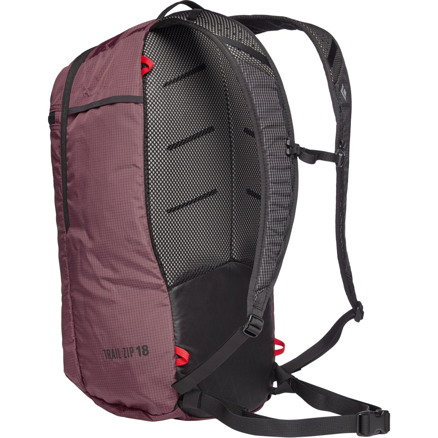 Image of Black Diamond Trail Zip 18 Backpack - Mulberry