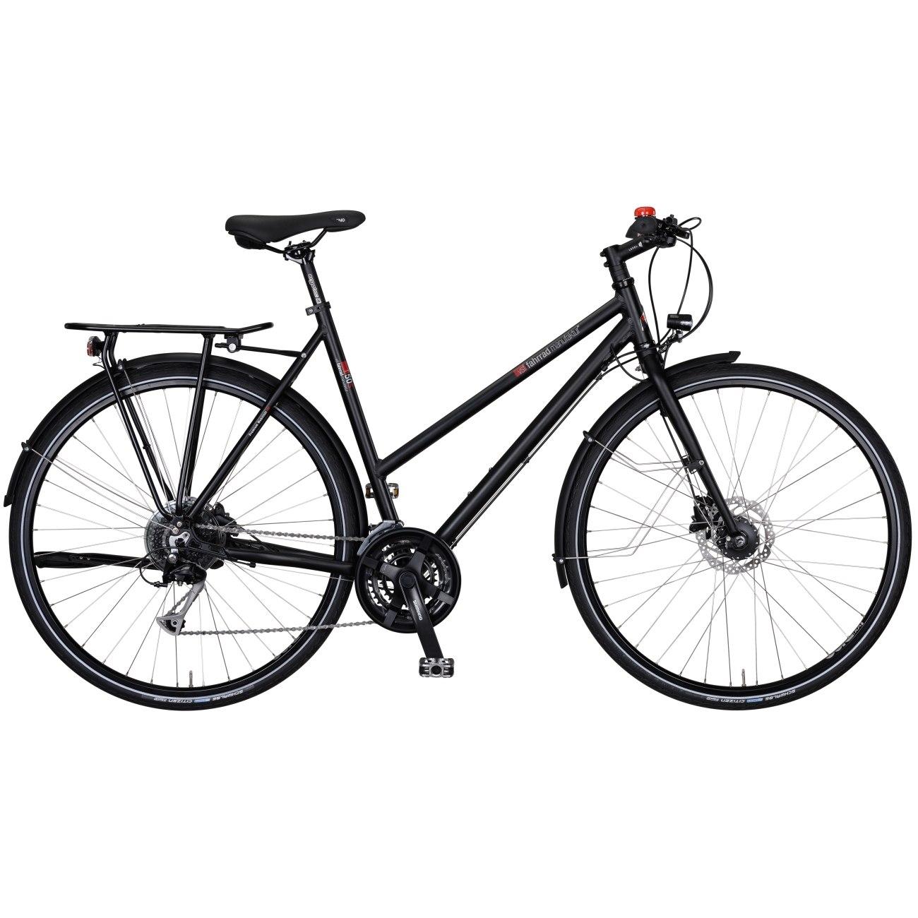 vsf fahrradmanufaktur T-50 Sport Disc Alivio - Damen Trekkingrad - 2021 - ebony matt