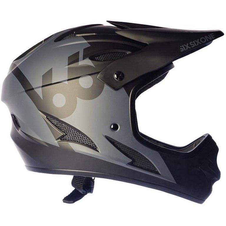 SIXSIXONE Comp Fullface Helm - black