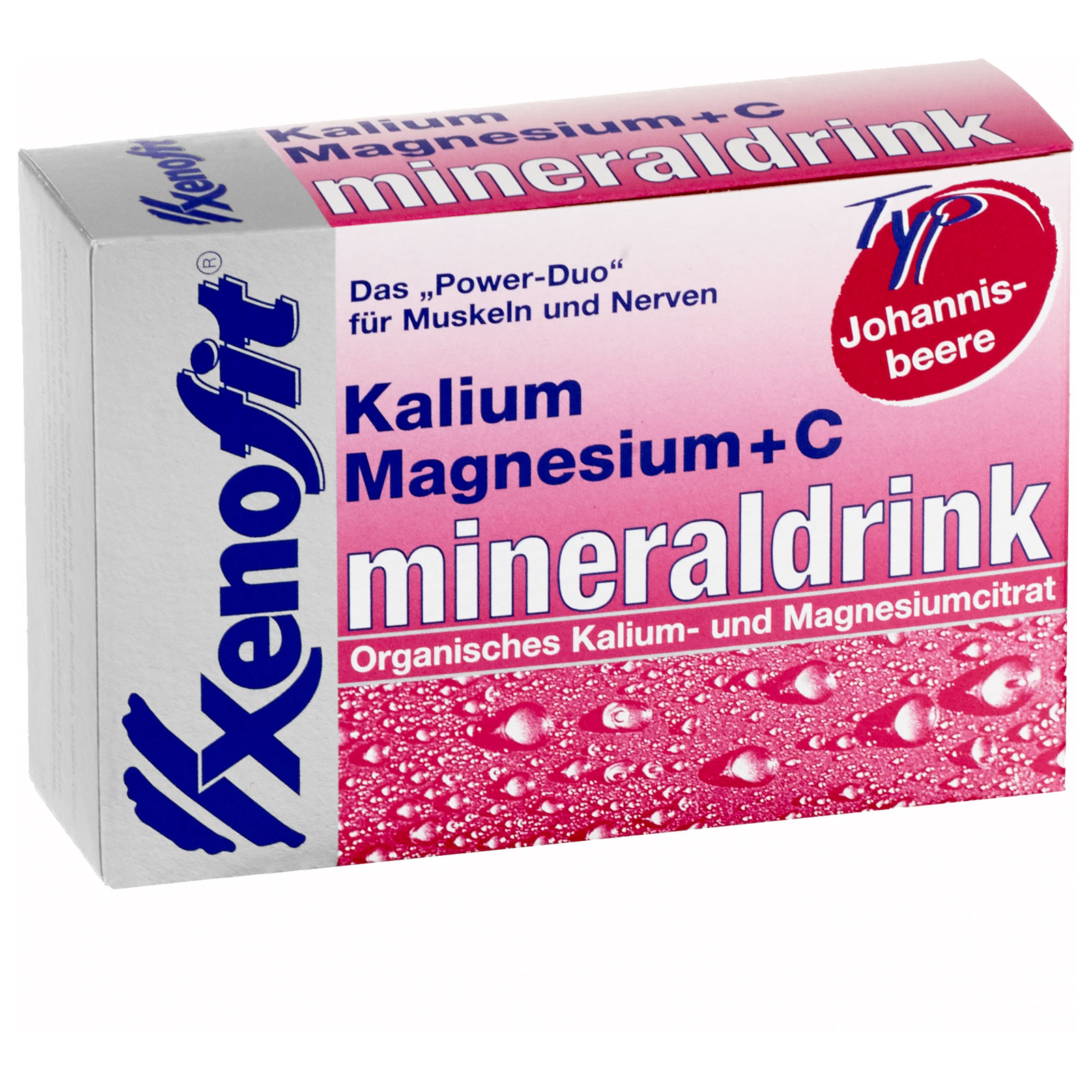 Bild von Xenofit Kalium + Magnesium + Vitamin C Mineraldrink Granulat - 20x5,7g