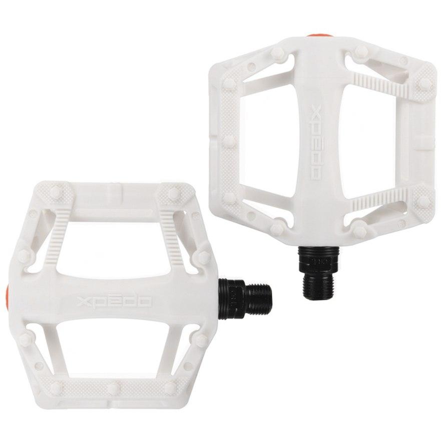 Xpedo Juvee Flat Pedal - weiß