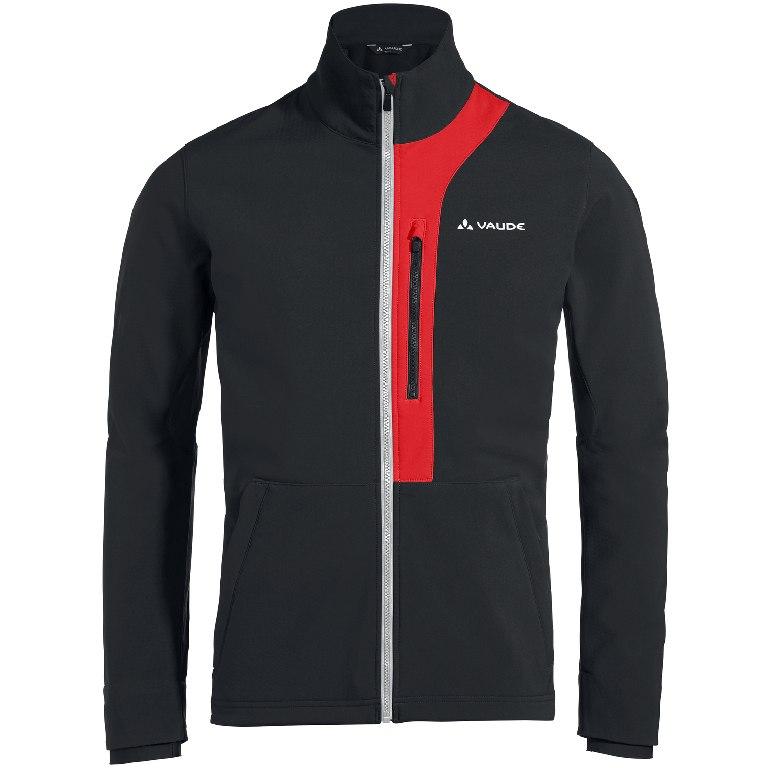 Vaude Men's Virt Softshell Jacket - black/red