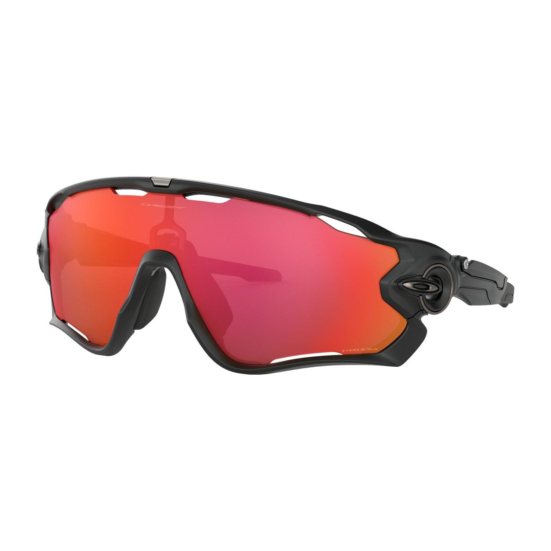 Foto de Oakley Jawbreaker Glasses - Matte Black/Prizm Trail Torch - 0OO9290-4831