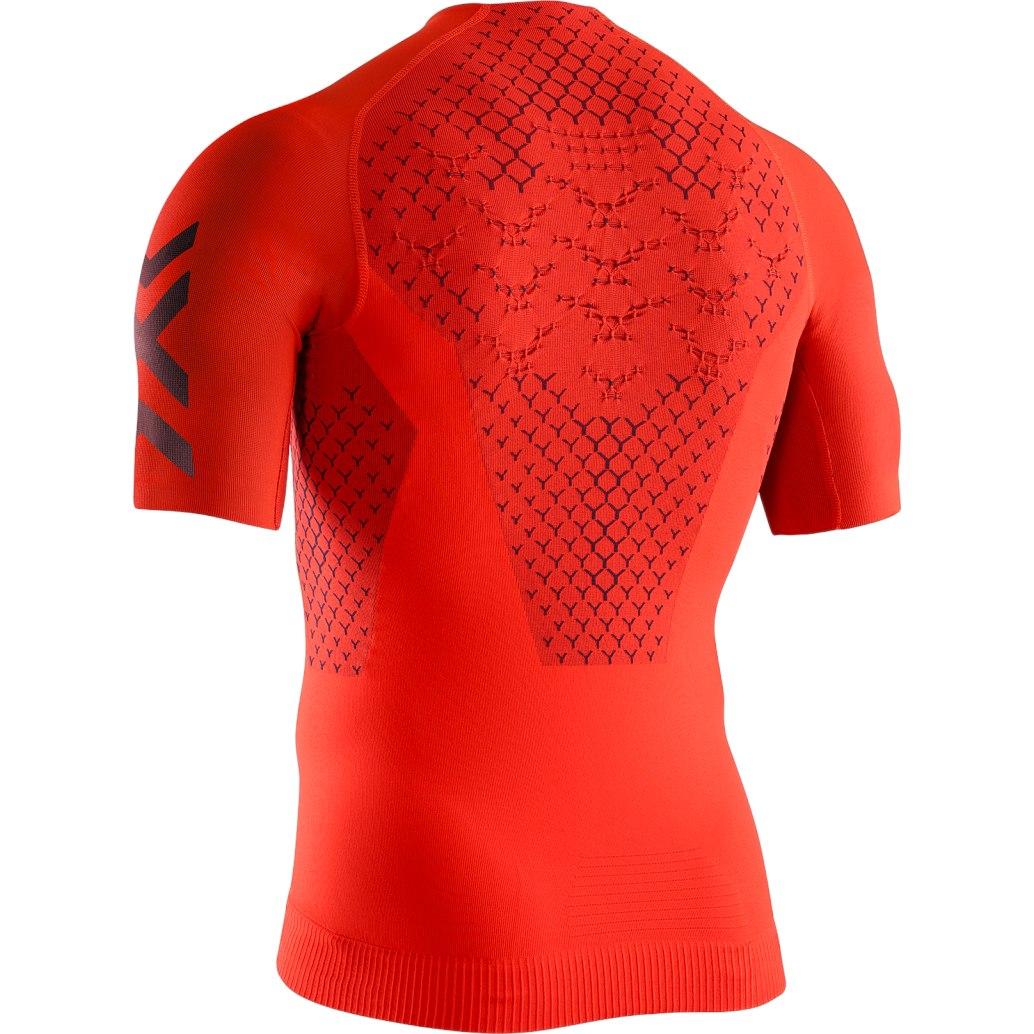 Bild von X-Bionic TWYCE 4.0 Run Kurzarm-Laufshirt für Herren - sunset orange/teal blue