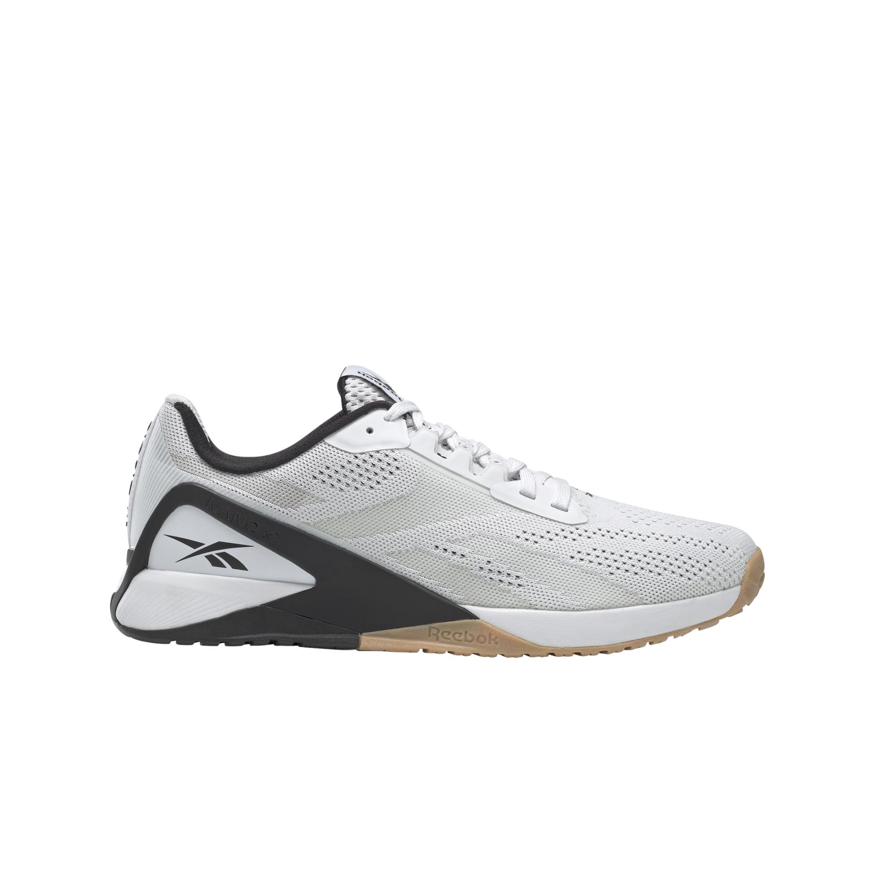 Reebok Nano X1 Herren-Fitnessschuh - white/black/reebok rubber gum-01 FZ0634