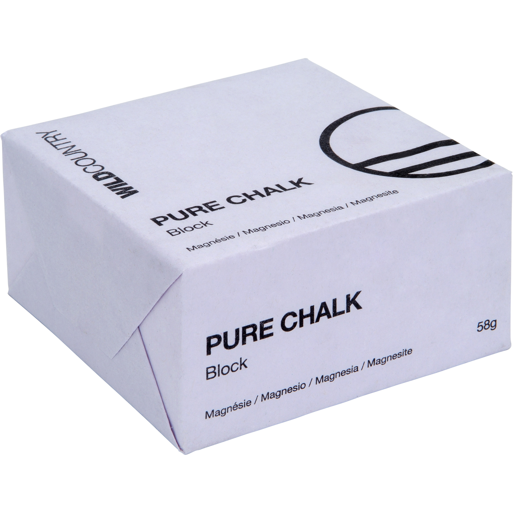 Wild Country Pure Chalk Block 58g Magnesiumblock - Uni