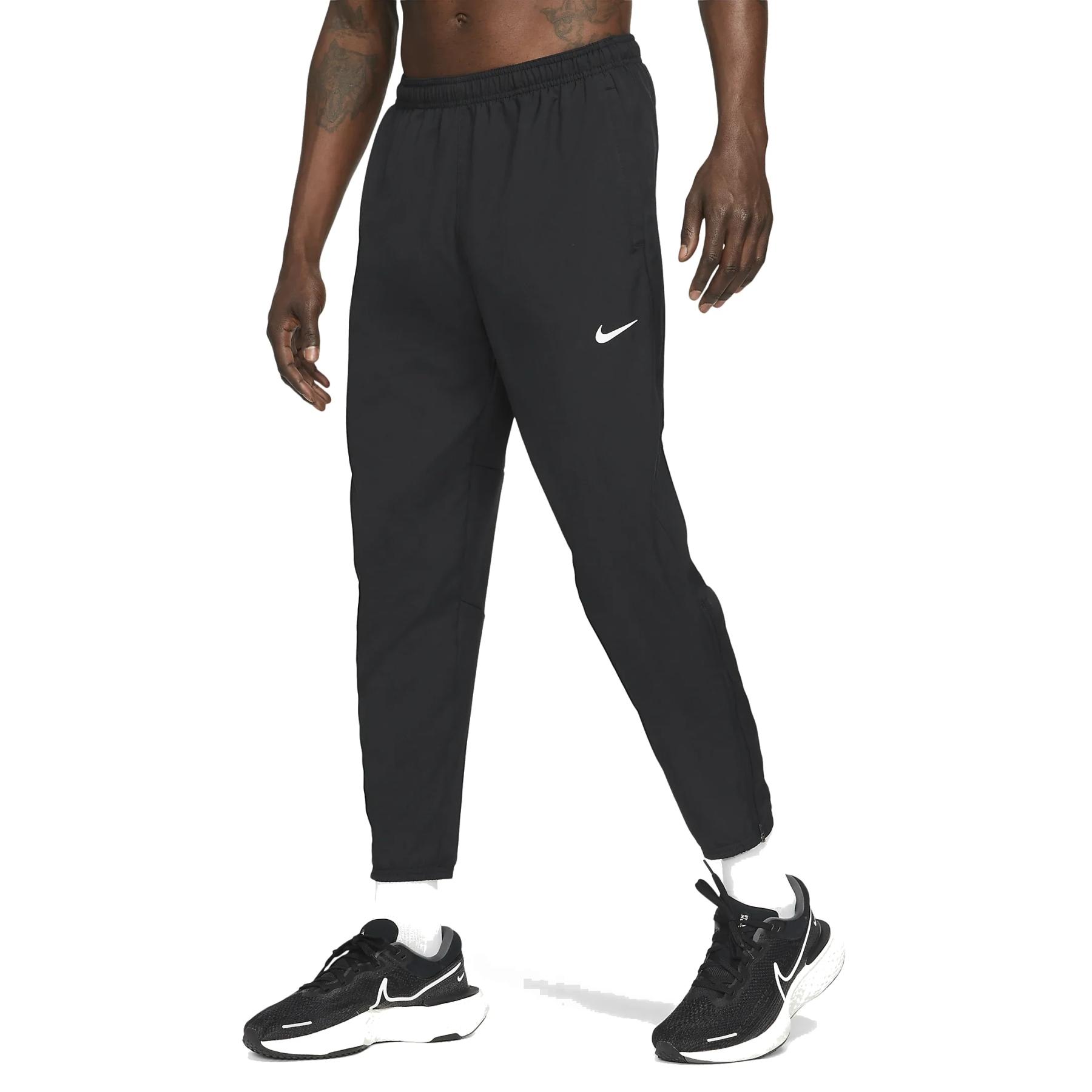 Nike Dri-FIT Challenger Pantalon de Correr para Hombre - black/reflective silver DD4894-010
