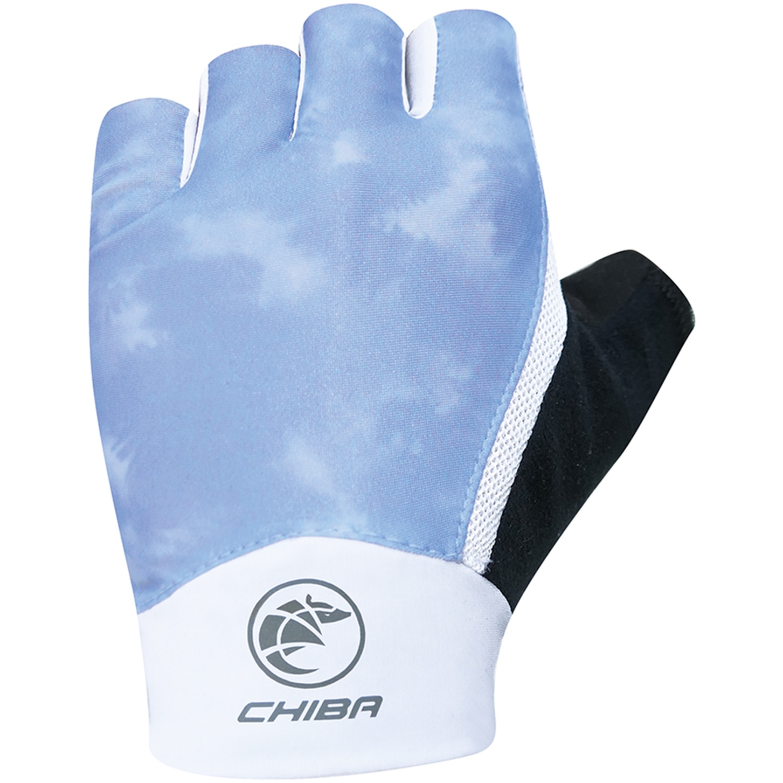 Chiba Tie Dye Bike Gloves Women - light blue