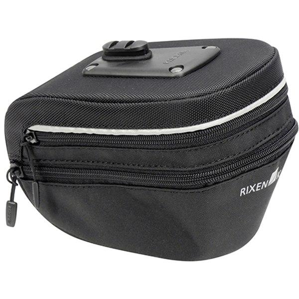 Image of KLICKfix Micro Sport 200 Expandable Bike Saddle Bag 0299XL - black
