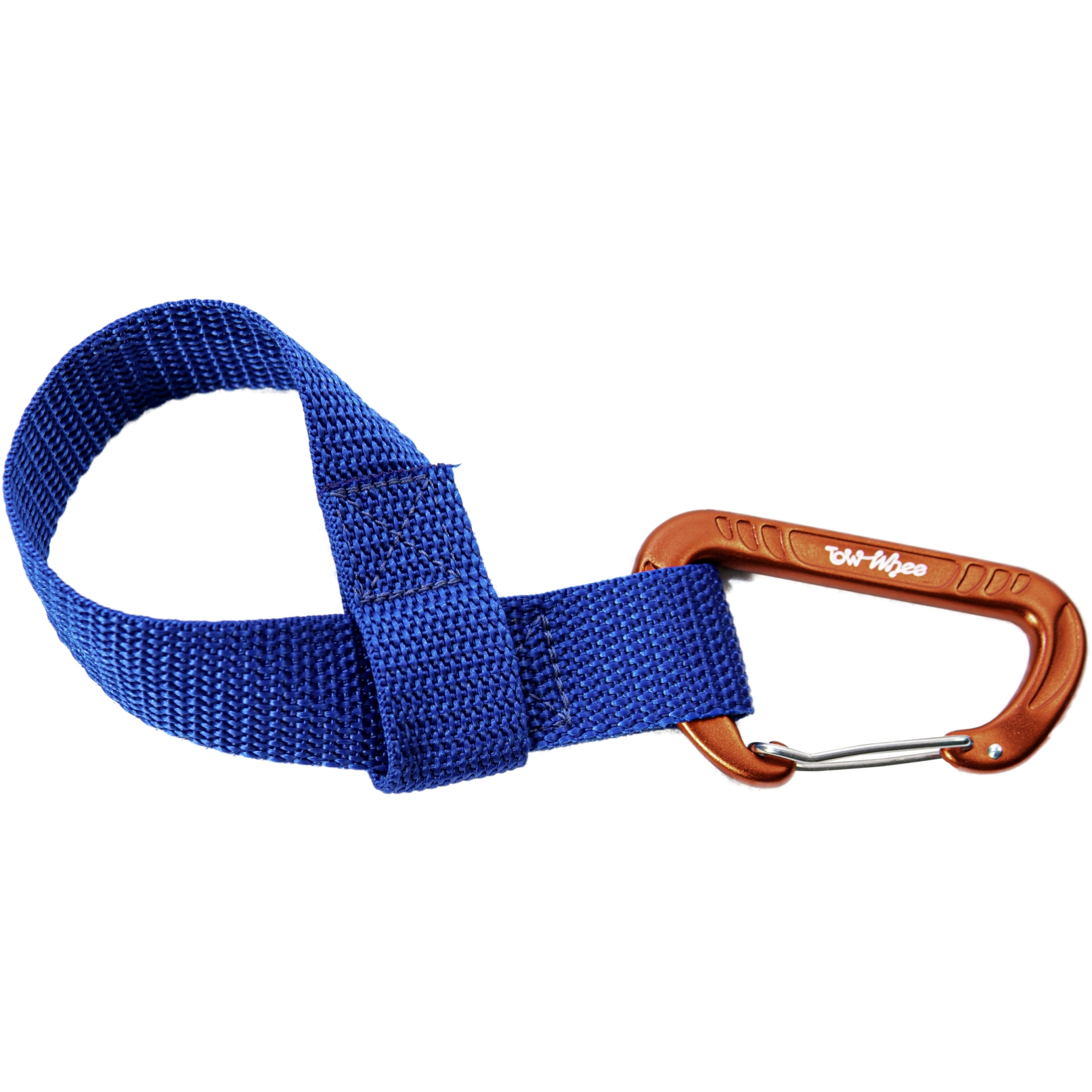 Picture of TowWhee Quick Loop W/Small Carabiner Tow Strap - Blue