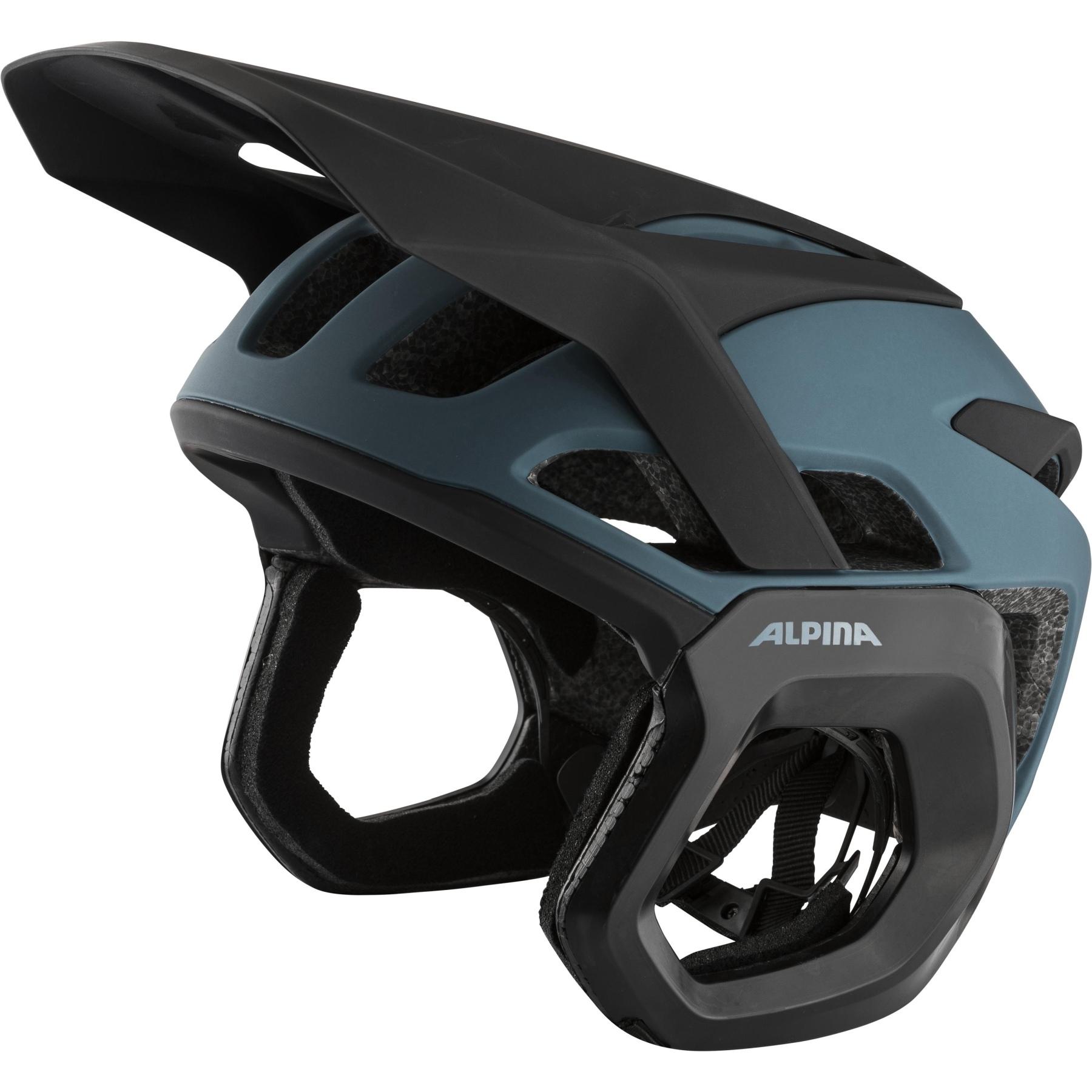 Alpina Rootage Evo Helmet - dirt-blue matt