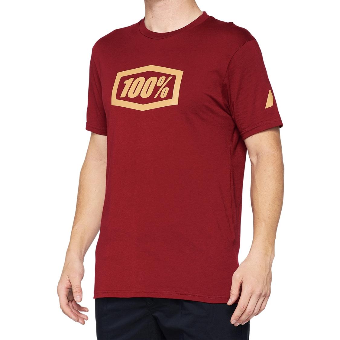 100% Essential Camisa - brick