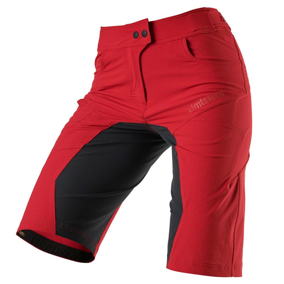Zimtstern Taila Evo MTB-Shorts für Damen - jester red/pirate black