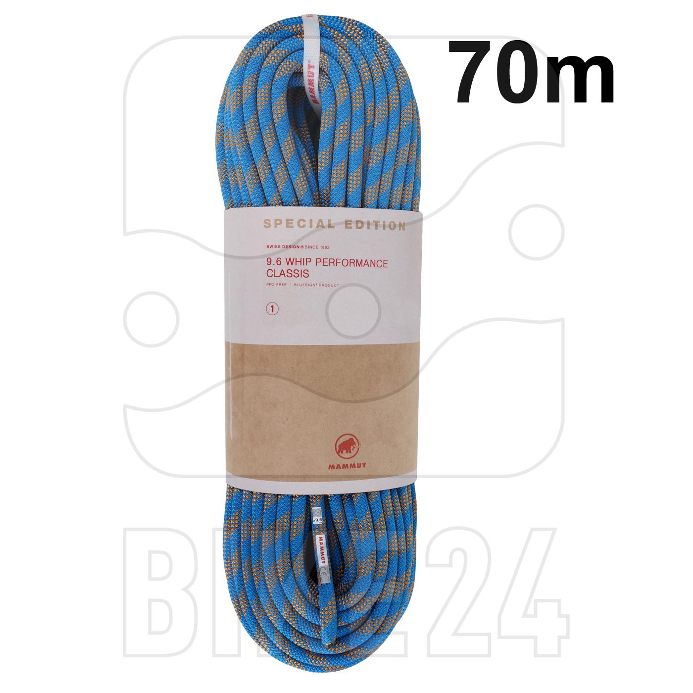 Mammut 9.6 Whip Single Rope BIKE24 Edition - 70m