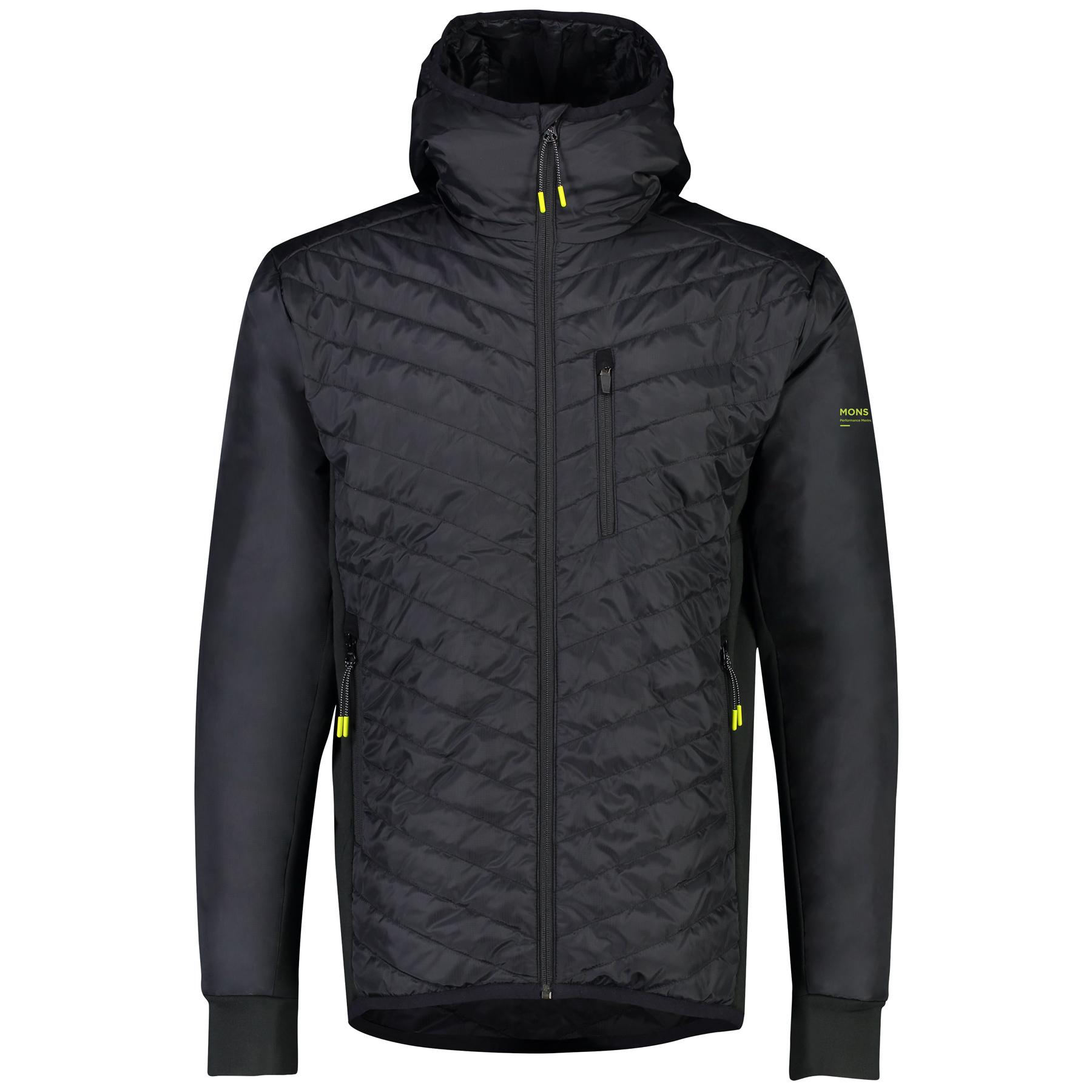 Mons Royale Arete Insulation Hood Jacket 100451 - black