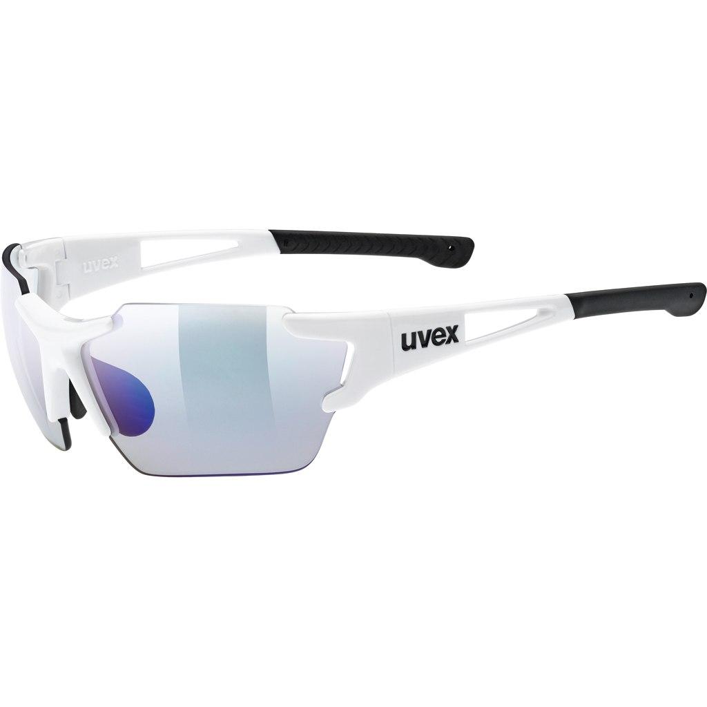Uvex sportstyle 803 race vm small - white/variomatic litemirror blue Brille
