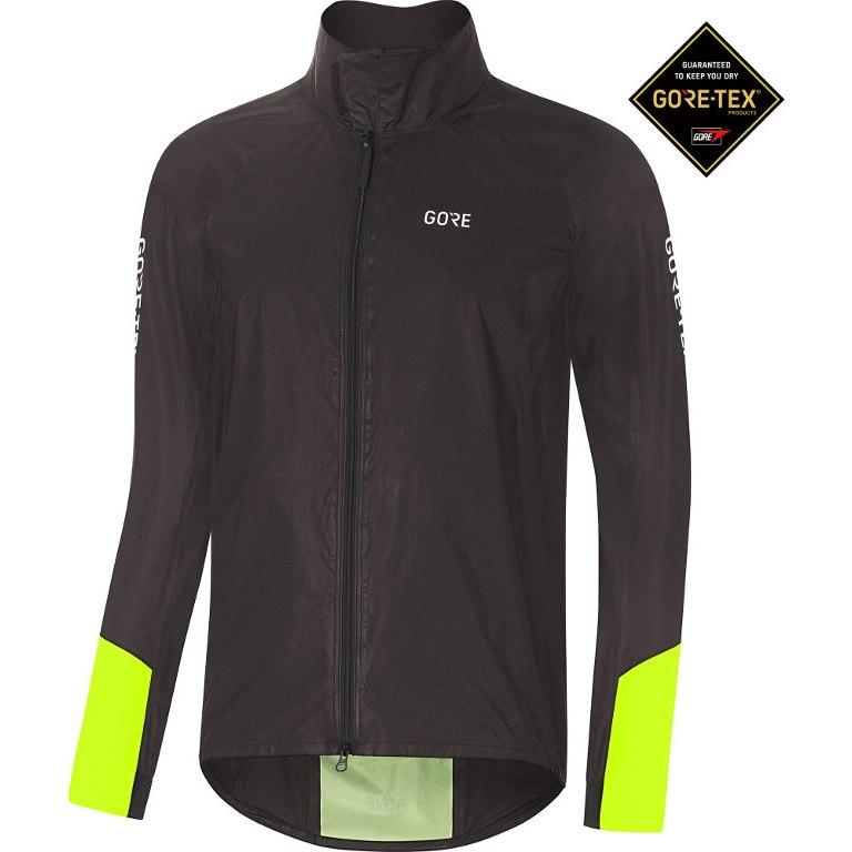 GORE Wear C5 GORE-TEX® SHAKEDRY™ 1985 VIZ Jacket - black/neon yellow 9908