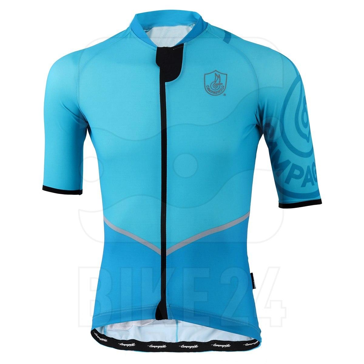 Campagnolo Titanio Jersey - Aquamarine Blue/Turquoise