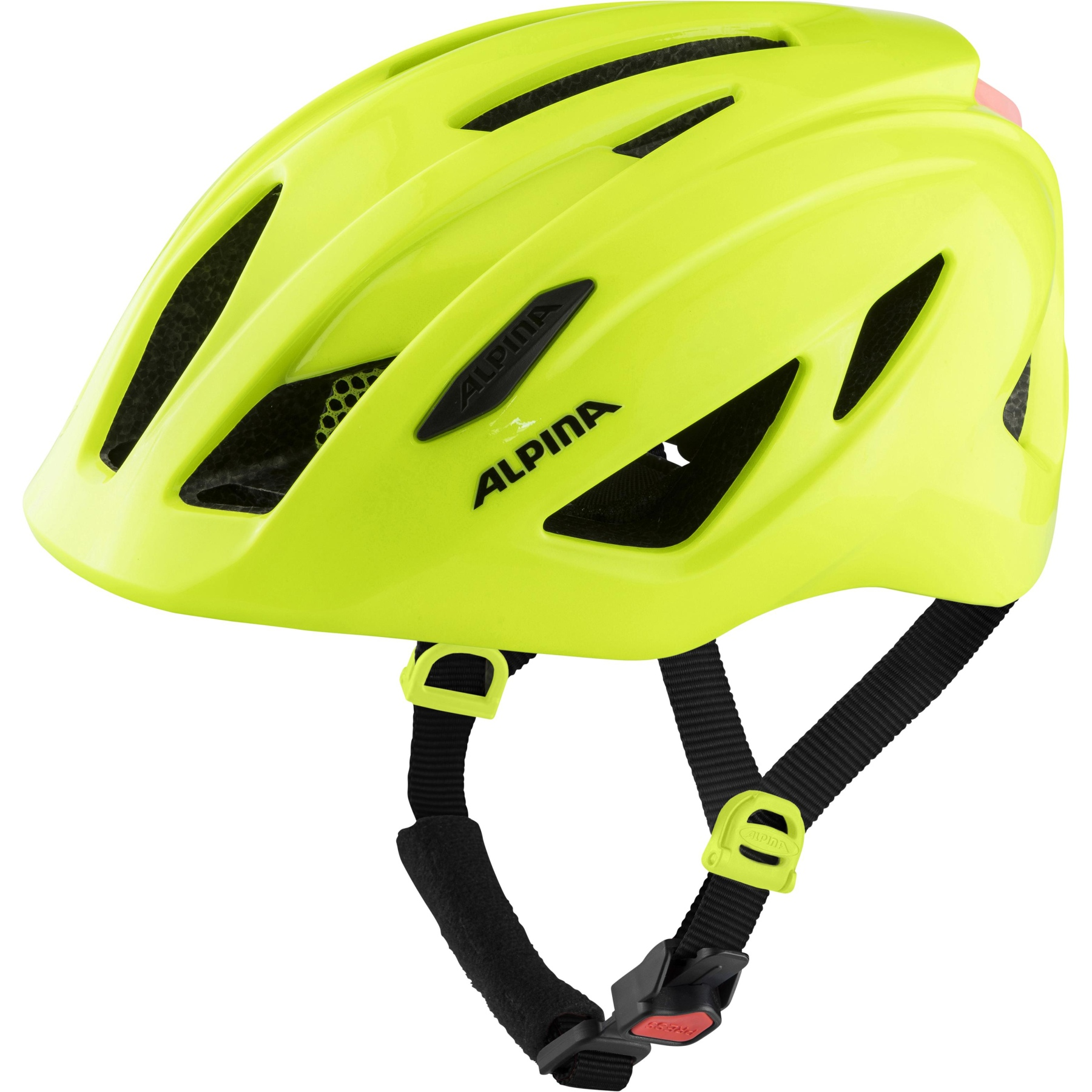 Alpina Pico Flash Kids Helmet - be visible gloss
