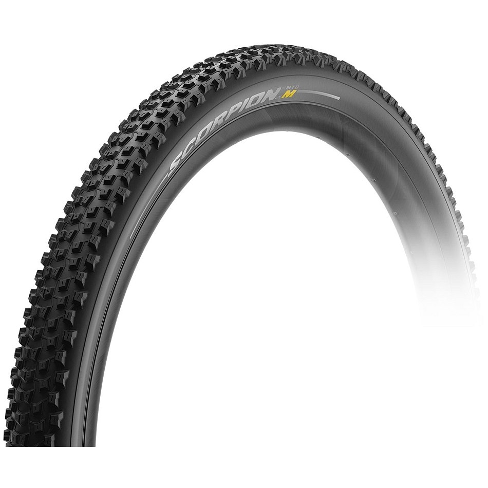 Pirelli Scorpion M Lite MTB Folding Tire - 29x2.2 Inches - black