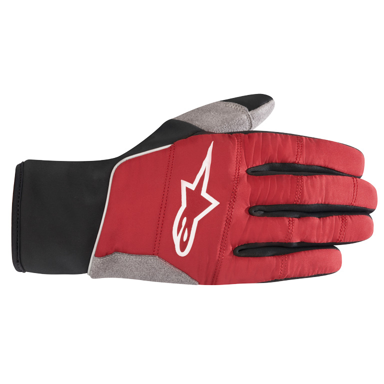Alpinestars Cascade Warm Tech Gloves - rio red/black