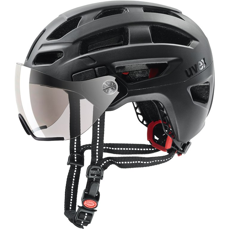 Uvex finale visor Helmet - black mat