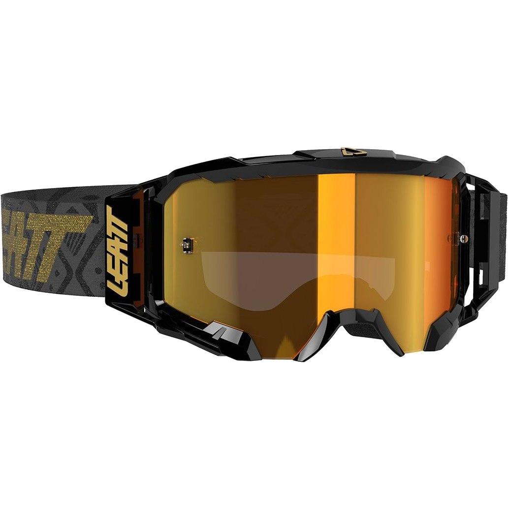 Bild von Leatt Velocity Iriz 5.5 Goggle Brille - black / bronz - anti fog mirror lens