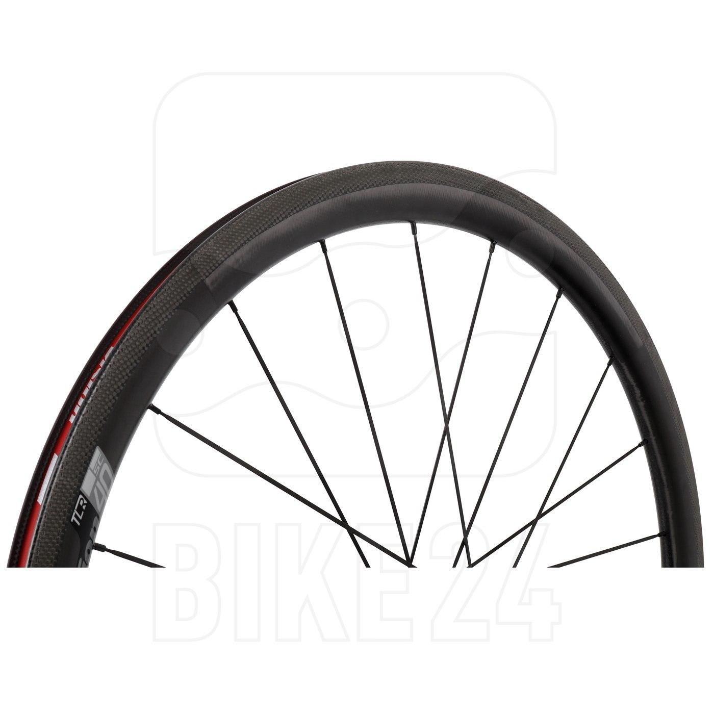 Bild von Vision SC 40 Carbon Laufradsatz - Tubeless Ready - Drahtreifen - QR