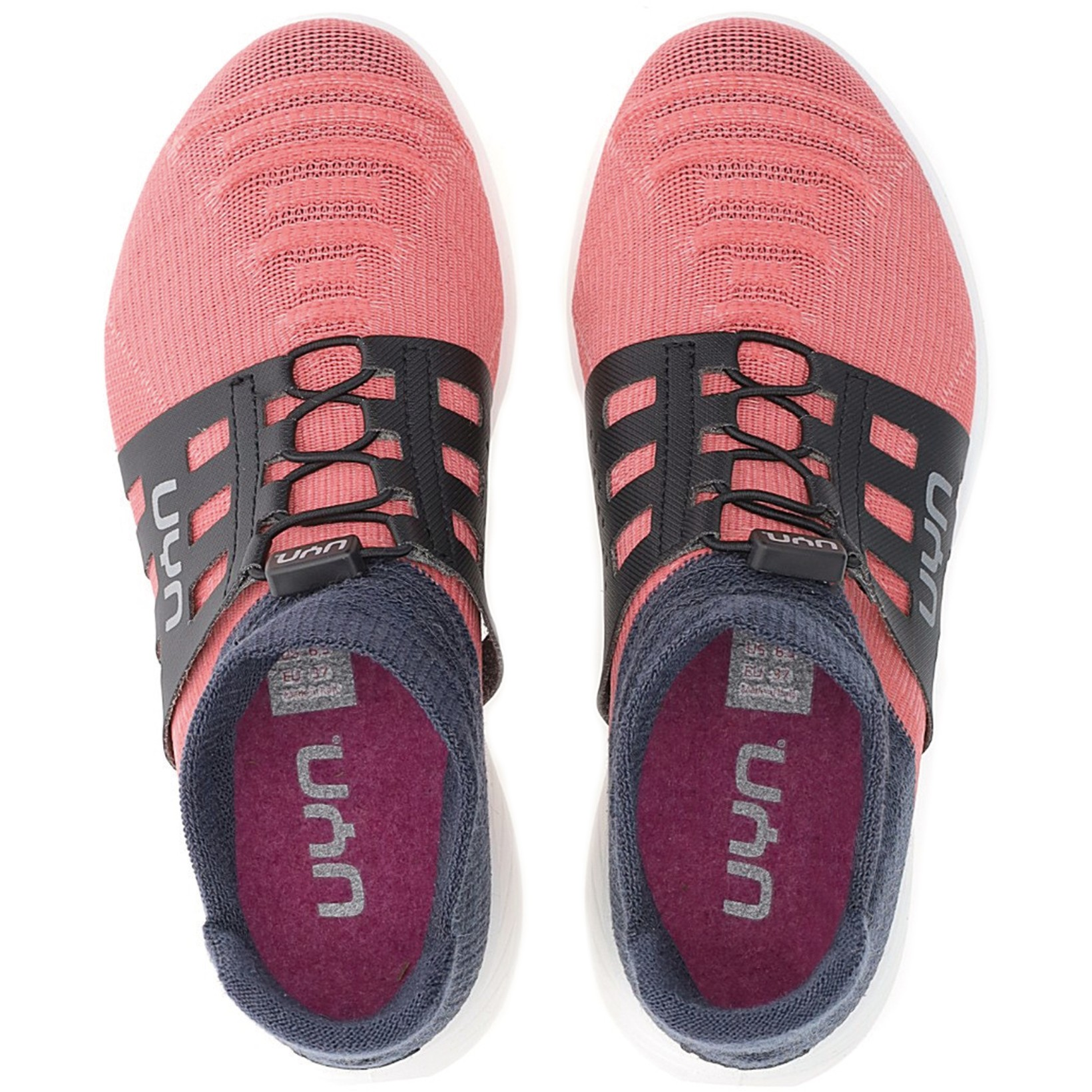 Image of UYN X-Cross Tune Running Shoes Women - Pink/Carbon