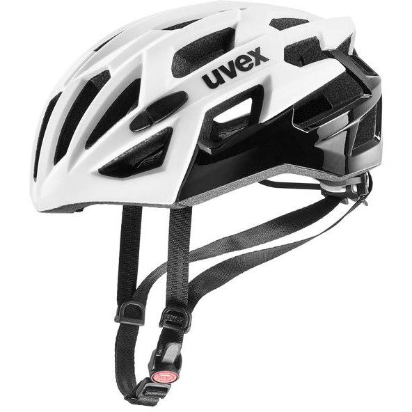 Uvex race 7 Helmet - white/black