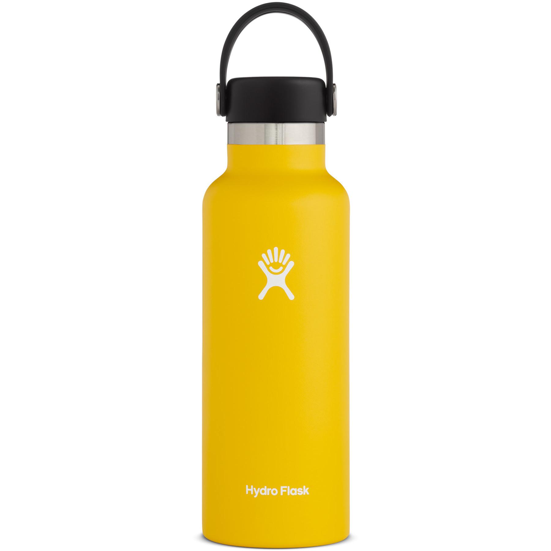Bild von Hydro Flask 18 oz Standard Mouth Flex Cap Thermoflasche 532ml - Sunflower