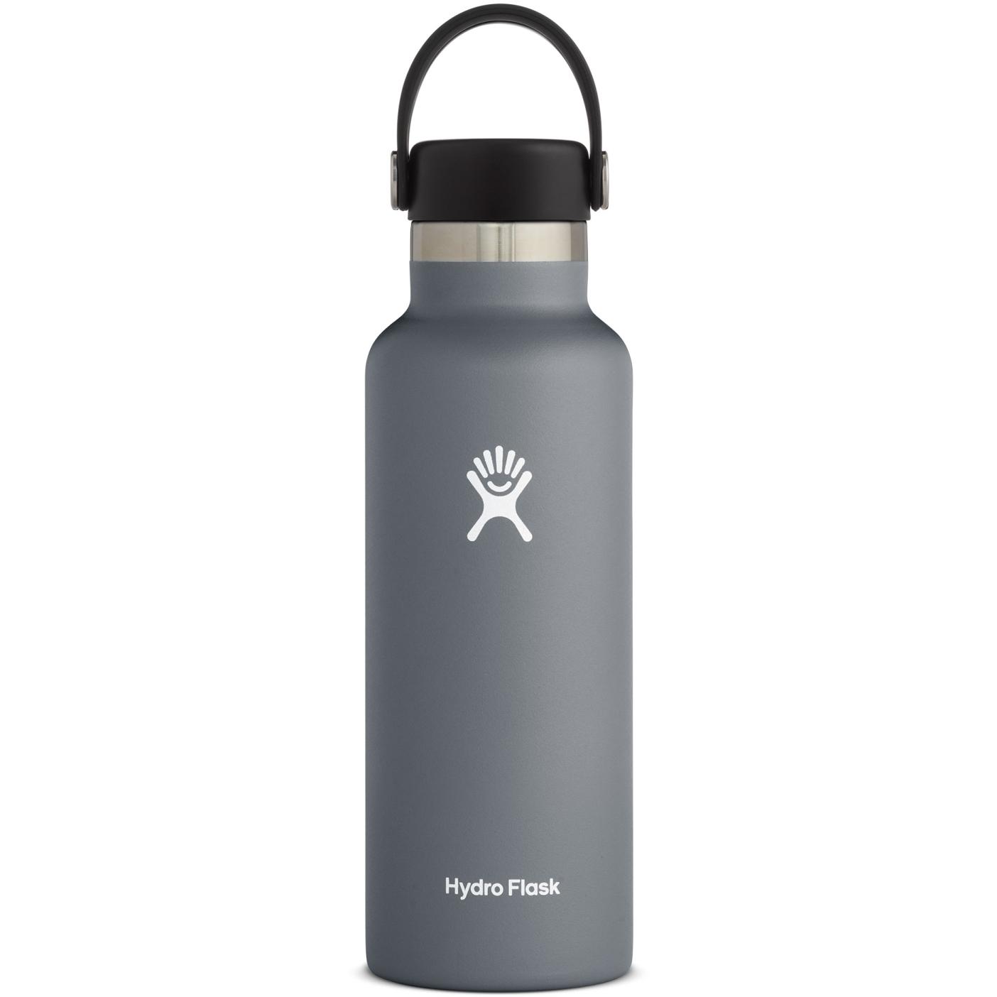 Produktbild von Hydro Flask 18oz Standard Mouth Flex Cap Thermoflasche - 532ml - Stone