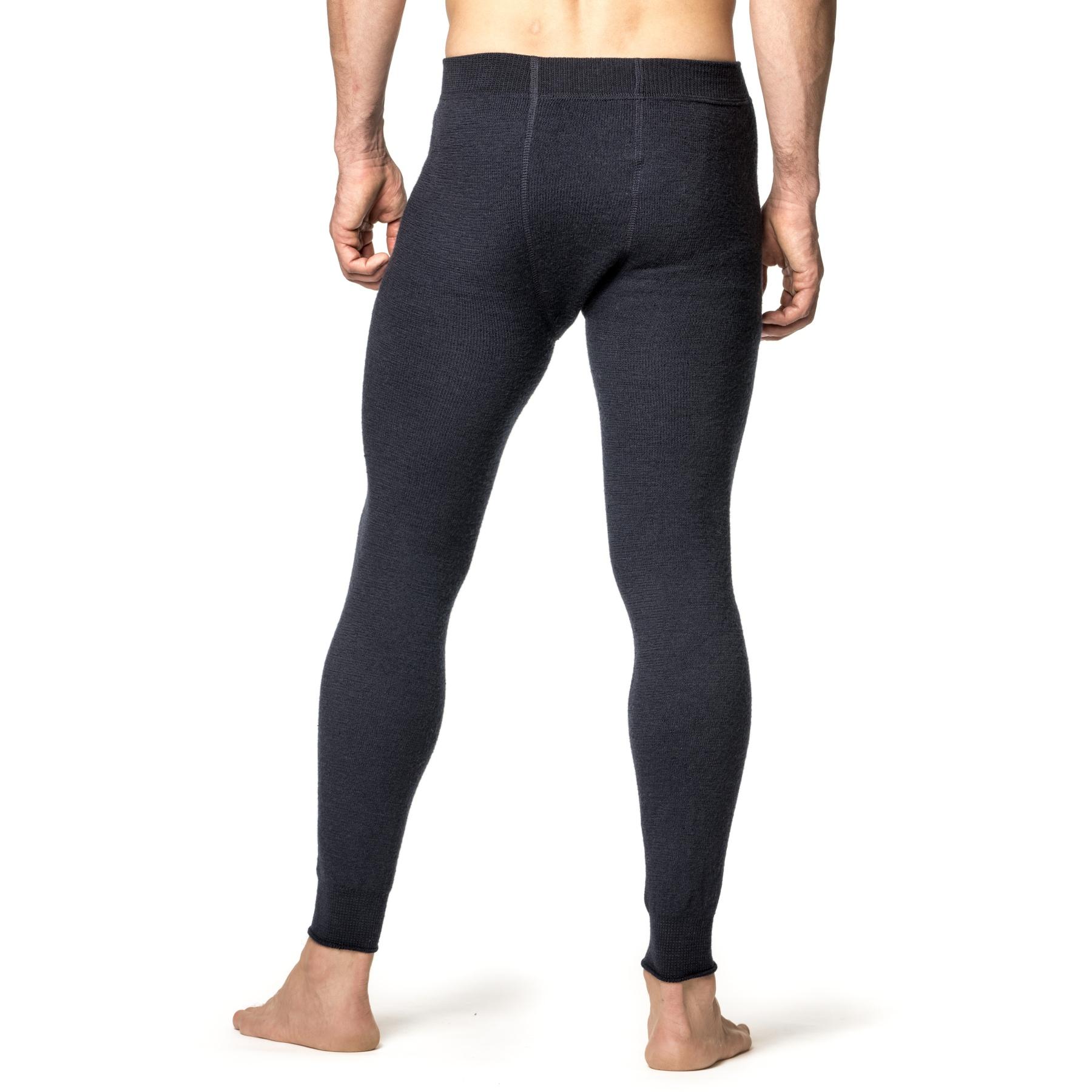 Image of Woolpower Long Johns 400 Underpants - dark navy