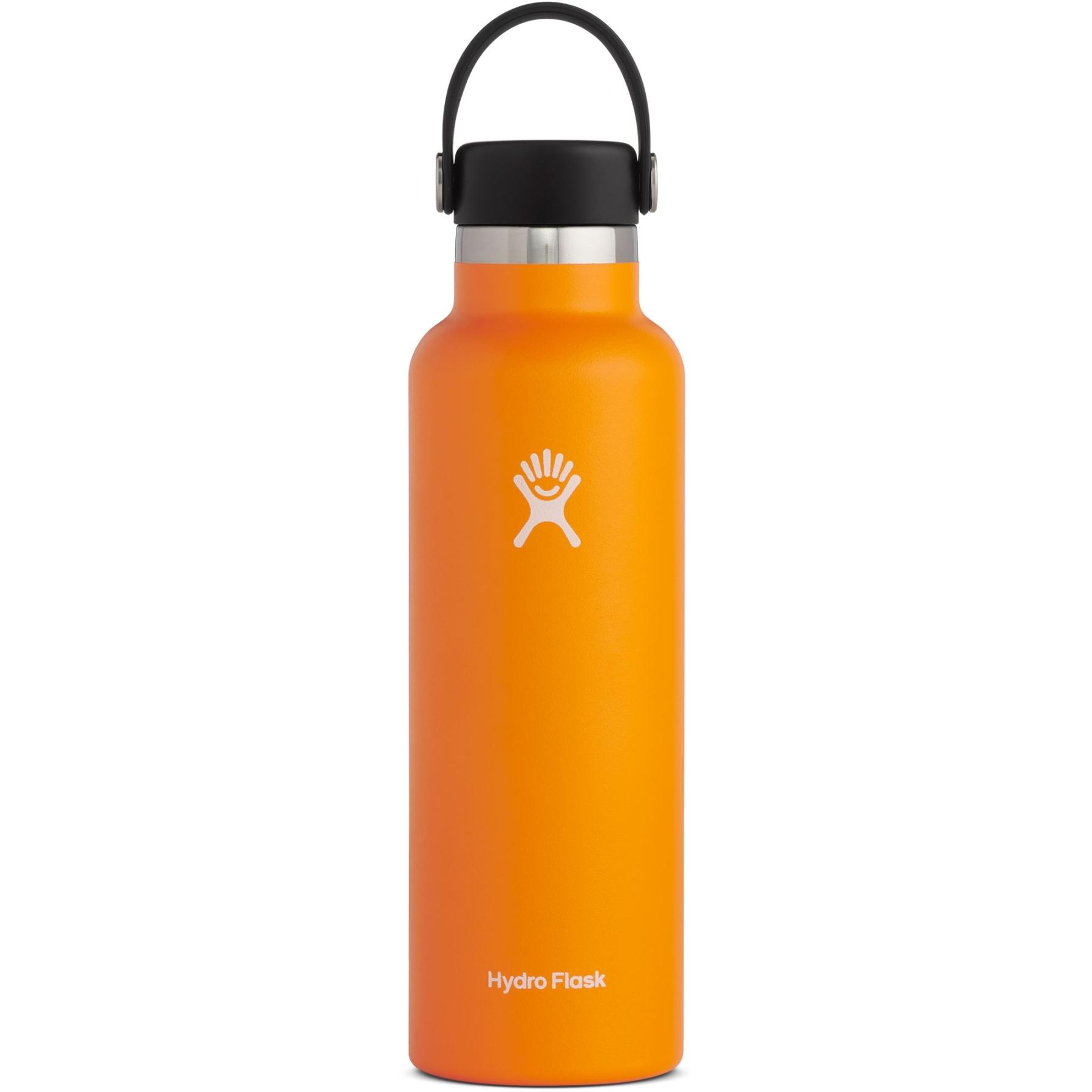 Produktbild von Hydro Flask 21 oz Standard Mouth Flex Cap Thermoflasche 621ml - Clementine