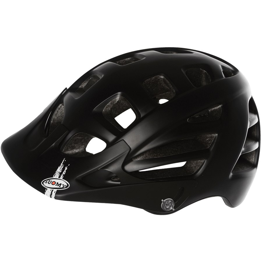 Suomy Scrambler Mono Helmet - Matt Black