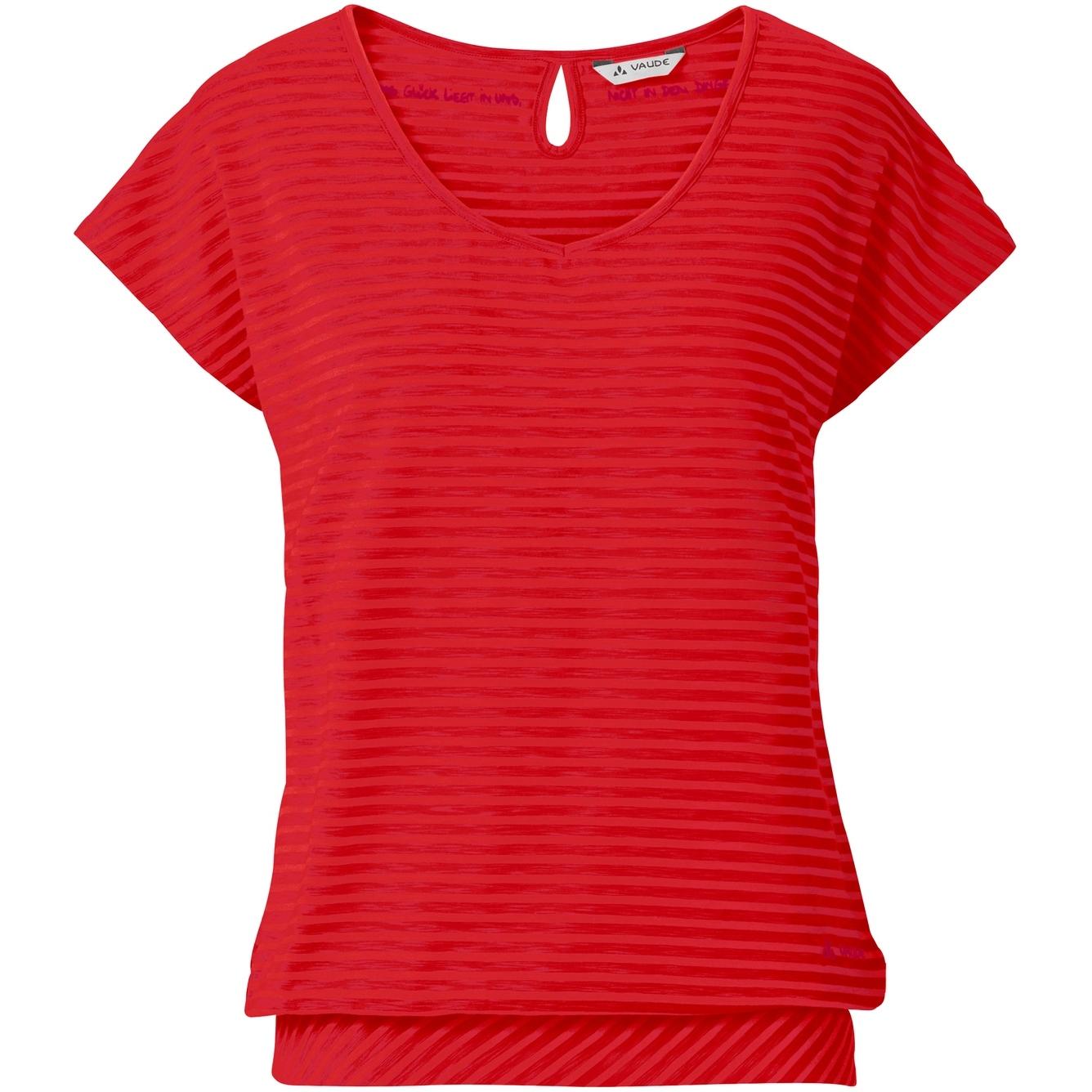 Vaude Skomer Damen T-Shirt II - mars red