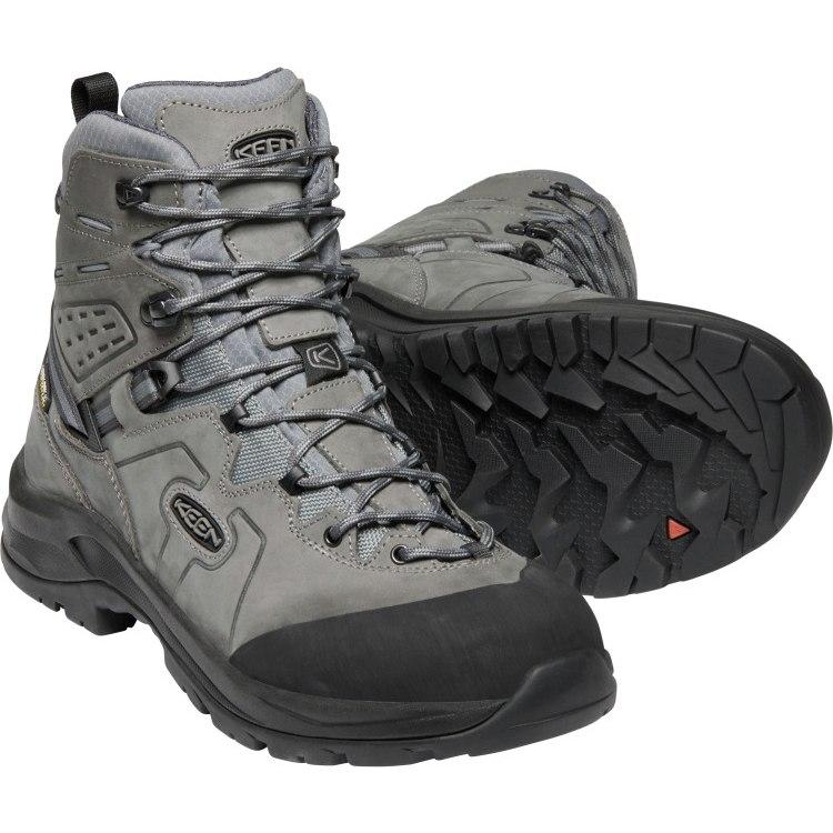 KEEN Karraig Waterproof Mid Men's Hiking Ankle Boot - Bungee Cord / Green Gables