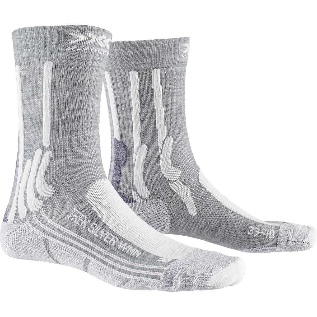Bild von X-Socks Trek Silver Damensocken - dolomite grey melange/pearl grey
