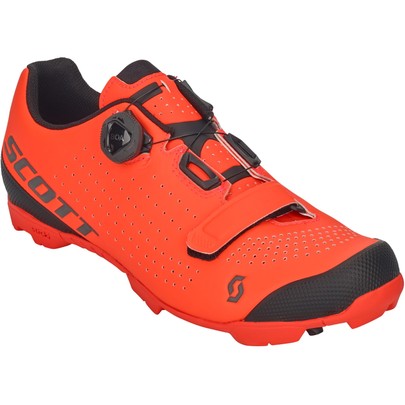 SCOTT MTB Vertec Boa Schuh - neon orange/black