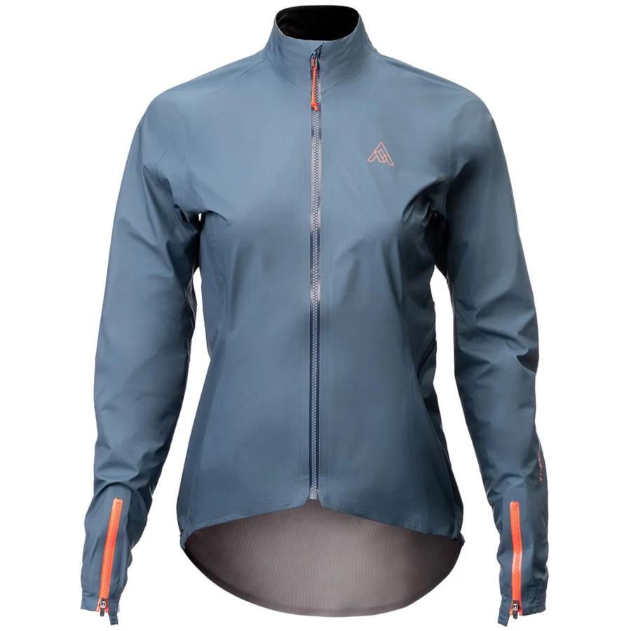 7mesh Rebellion Jacket Chaqueta impermeable para mujers - Mallard Blue