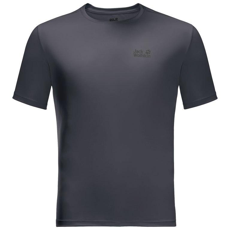 Jack Wolfskin Tech T-Shirt - ebony
