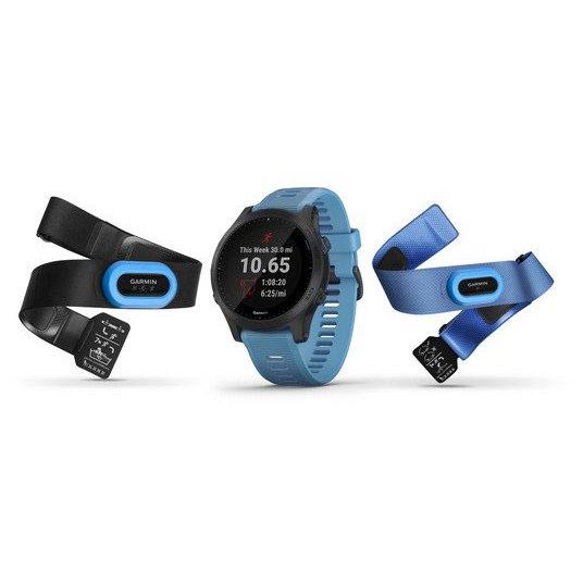 Garmin Forerunner 945 Tri Bundle Reloj Deportivo GPS