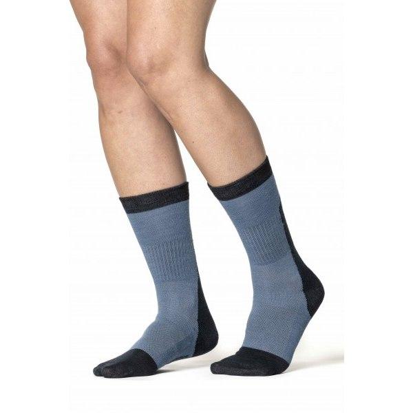 Bild von Woolpower Skilled Liner Classic Unisex Socken - dark grey/grey
