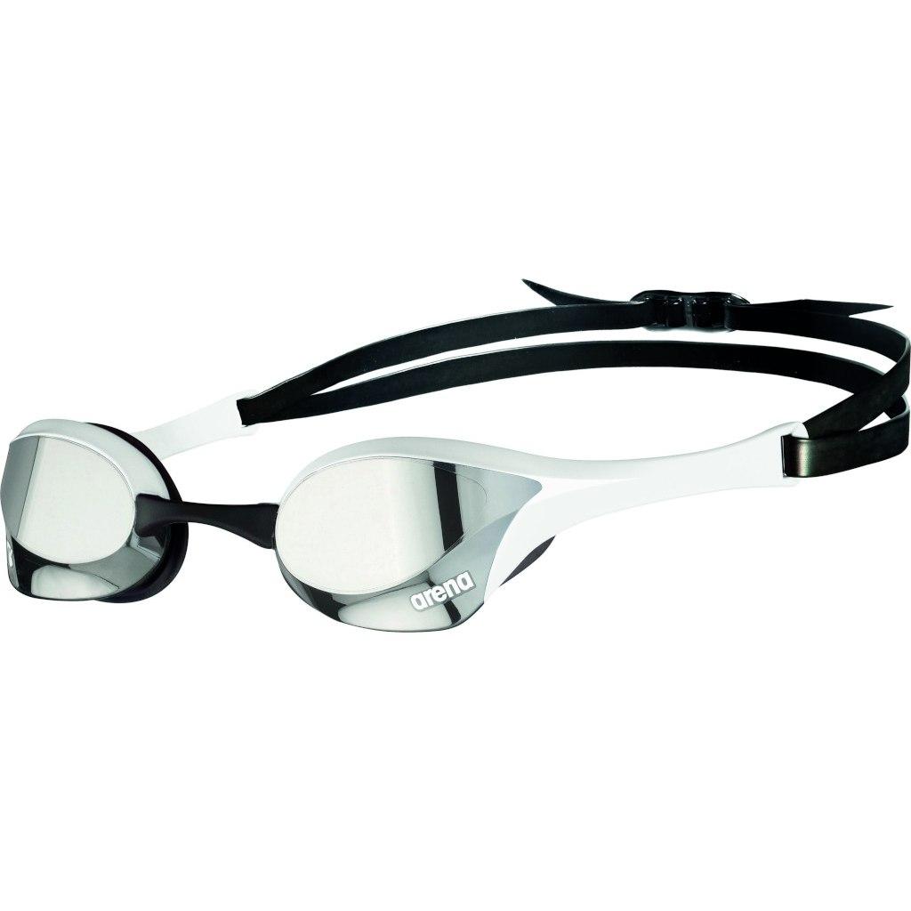 Produktbild von arena Cobra Ultra Swipe Mirror Silver/White Schwimmbrille