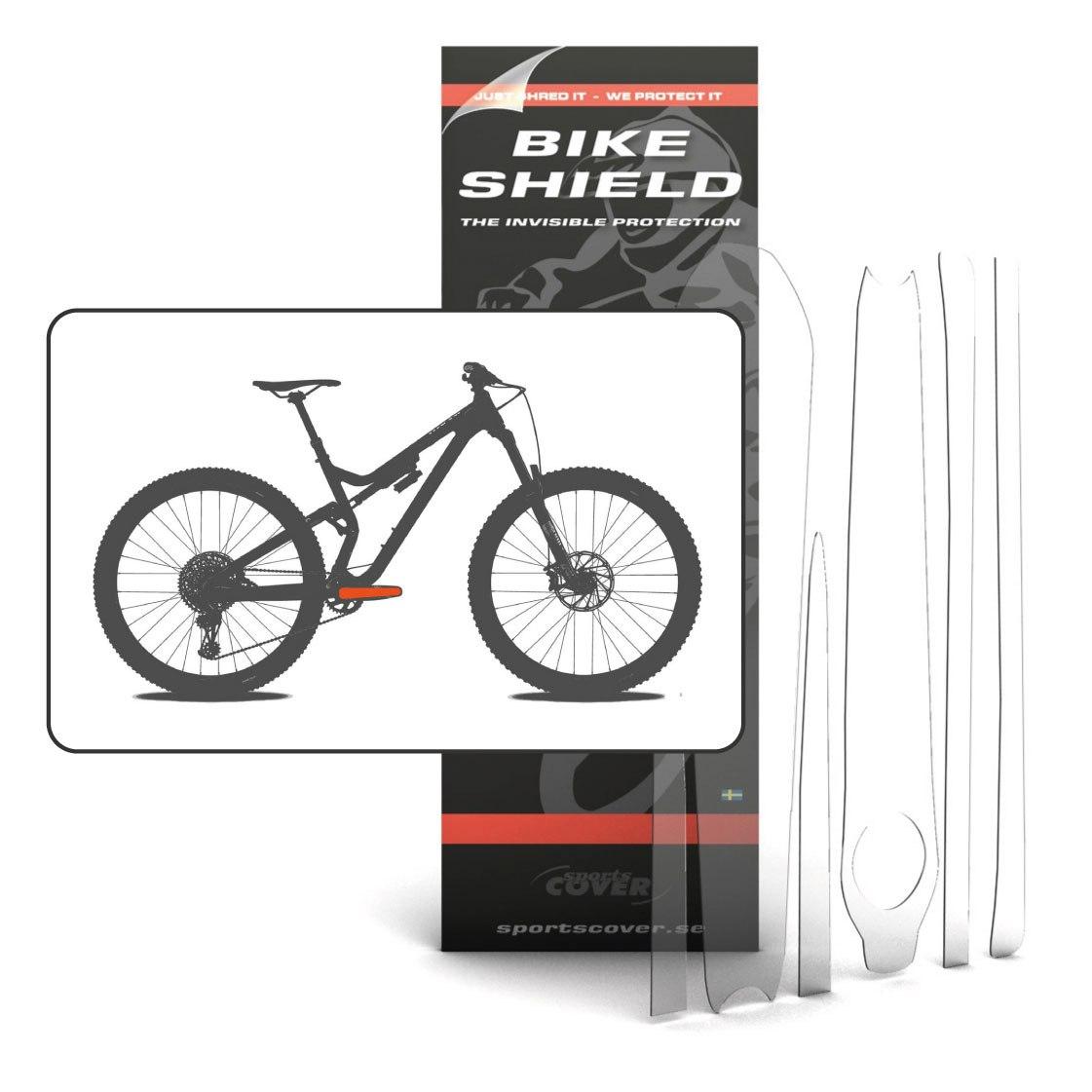 BikeShield CrankShield - 6 pieces - standard