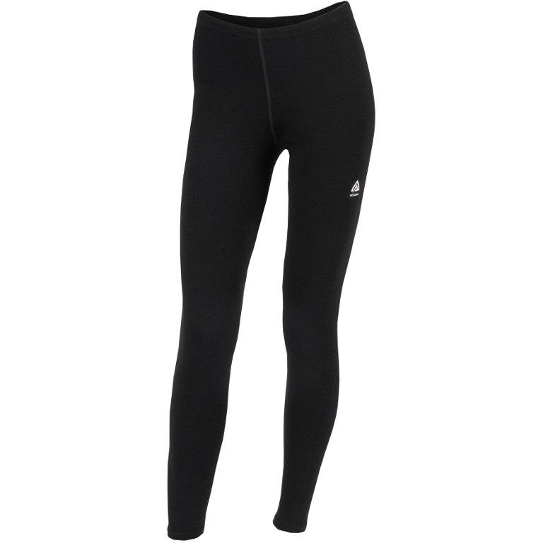 Aclima Warmwool Women's Long Pants - jet black