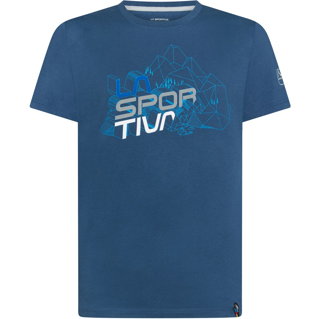 La Sportiva Cubic T-Shirt - Opal/Cloud