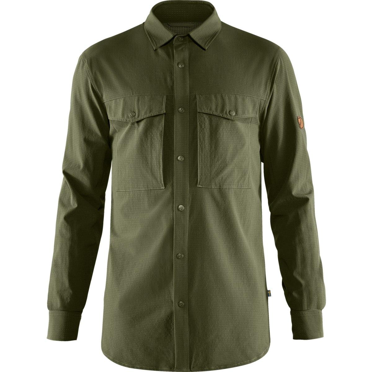 Fjällräven Abisko Trekking Shirt - laurel green