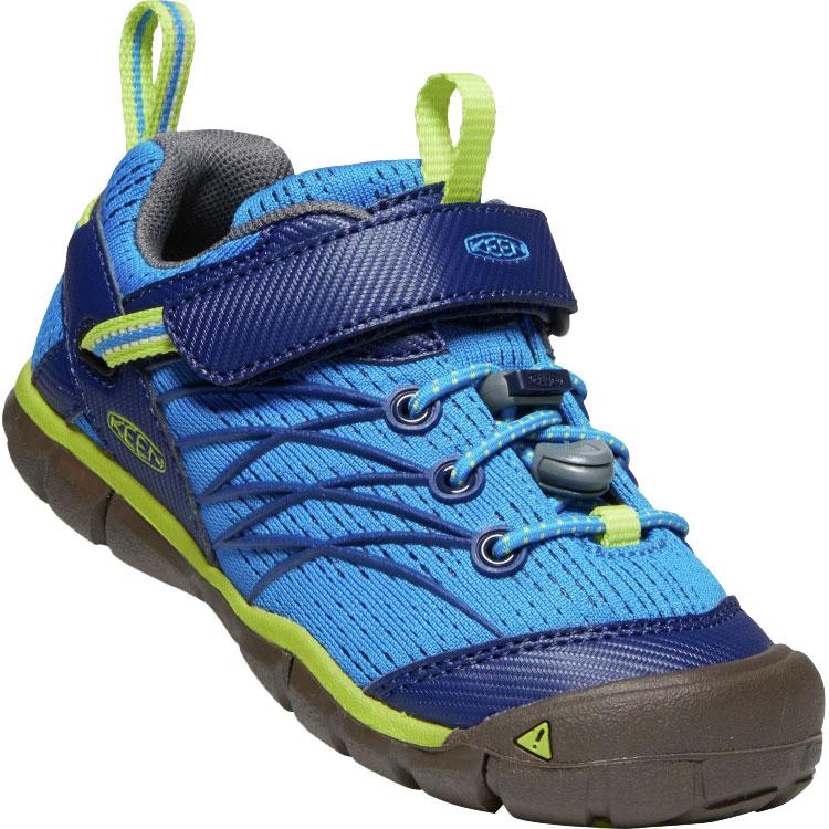 KEEN Chandler CNX Kids Shoe - Brilliant Blue / Blue Depths